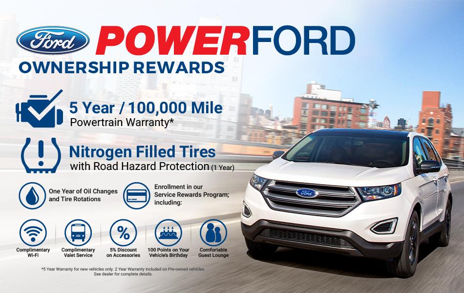 Power Ford Ownership Rewards Information